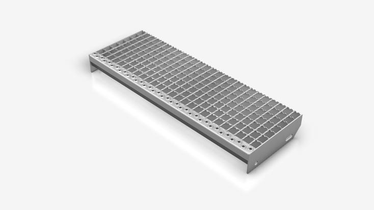 Gitterrost-Treppenstufe Typ SPS