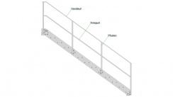 Geländer für Gerade- & Podesttreppen - Typ A